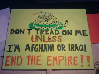 Don't Tread On Me - unless I'm Afghani or Iraqi